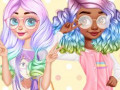 Lojra Princesses Kawaii Looks and Manicure